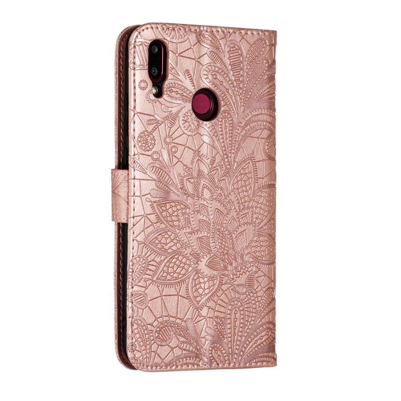 Lüks PU deri Flip Case Huawei Y5 Y6 Y7 Y9 2019 başbakan 2018 cüzdan kitap Huawei P akıllı için Z artı 2019 kapak Coque