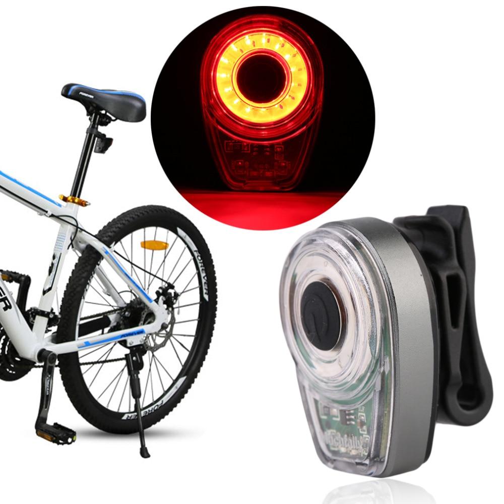 Alta Calidad Impermeable Bicicleta Luces Traseras de La Bicicleta de Ciclo de Ca