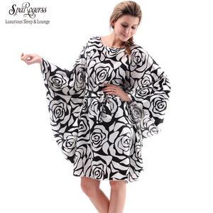 91e53ff4c2c6f SpaRogerss Plus Size Women Nightgowns Ladies Home Female