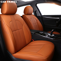 CAR TRAVEL leather car seat cover for Chevrolet Captiva spark Camaro Cruze Malibu Automobiles Seat Covers Interior Accessories