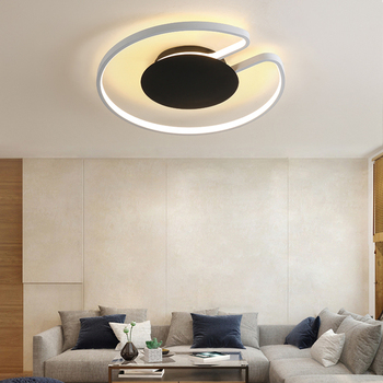 LED remote control chandeliers Living room Bedroom Kids room led circle chandelier Indoor home Ceiling Decor ring chandelier