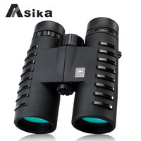 fast shippin HD binoculars telescope Asika 10x42 outdoor fun sports military standard grade high powered night vision binocular