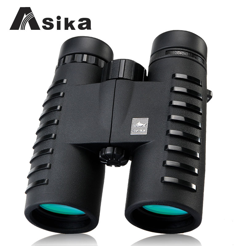 fast shippin HD binoculars telescope Asika 10x42 outdoor fun sports military standard grade high-powered night vision binocular цена и фото