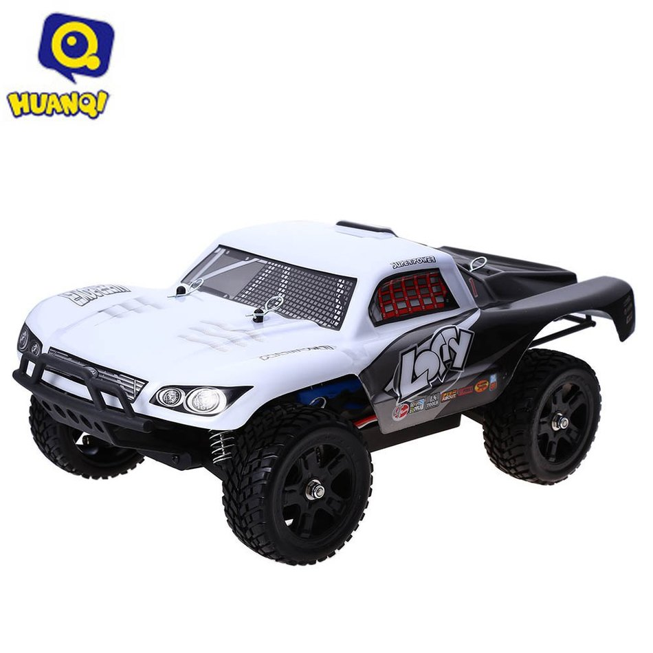 Huanqi 734A 2.4GHZ 2CH 1:16 4WD High Speed 30KM/H RC Rally Truck RTR Vehicle Toy Parts & Accessories 1 16 huanqi hq 731 732 733 734 rc car spare parts m0692 m0693 m0444 m0445 dog bone differential cup