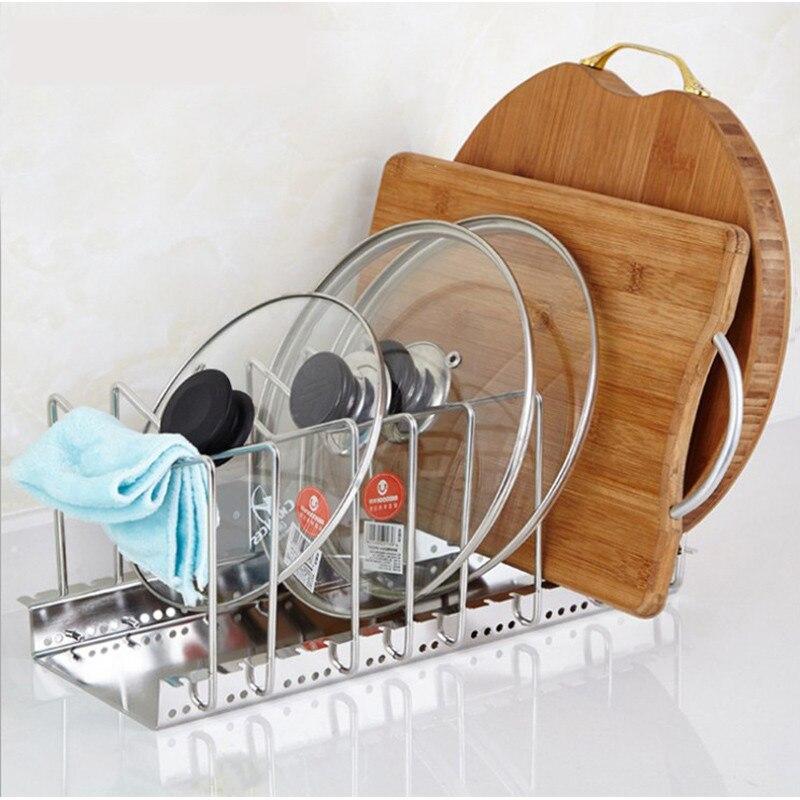 HIPSTEEN 조정 가능한 스테인레스 스틸 주방기구 - 집안에서의 조직 및 보관