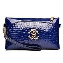 Women's Handbags Crocodile Hand Bag Handbag Shoulder Messenger Bag Crocodile texture handbag leather handbags purses