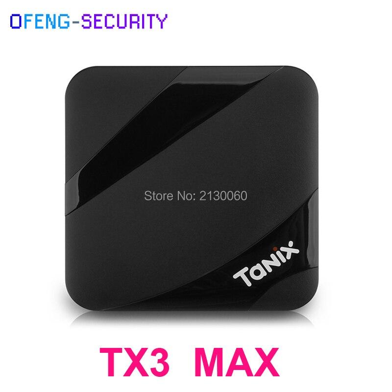Tanix TX3 Max TV Box Amlogic S905W Android 7.1 nouveau ALICE UX 2 GB RAM 16 GB ROM 2.4 GHz Wi-Fi 4 K 100 Mbps LAN BT4.1 décodeur
