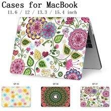 Pour ordinateur portable MacBook Case pochette pour ordinateur portable couverture tablette sacs pour MacBook Air Pro Retina 11 12 13 15 13.3 15.4 pouces Torba A1990A1707