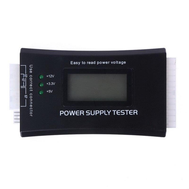 LCD Digital Probador de Fuente de Banco de la Energía 20/24 Pin compruebe quick