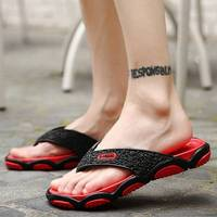 2017 Mens Flip Flops Sandals EVA Casual Men Shoes Summer Fashion Beach Flip Flops Sapatos Hembre sapatenis masculino Slippers