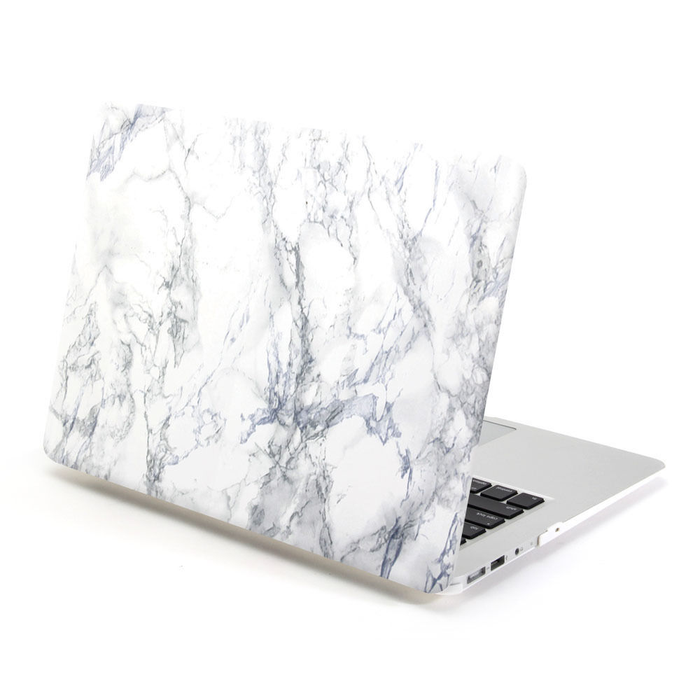 finest selection 27a14 1a457 US $15.99 |GOOYIYO 2018 Laptop Marble Case Hard PC Marble Shell Protective  Cover For Macbook Air Pro Retina 11 13 15 & Screen Film-in Laptop Bags & ...