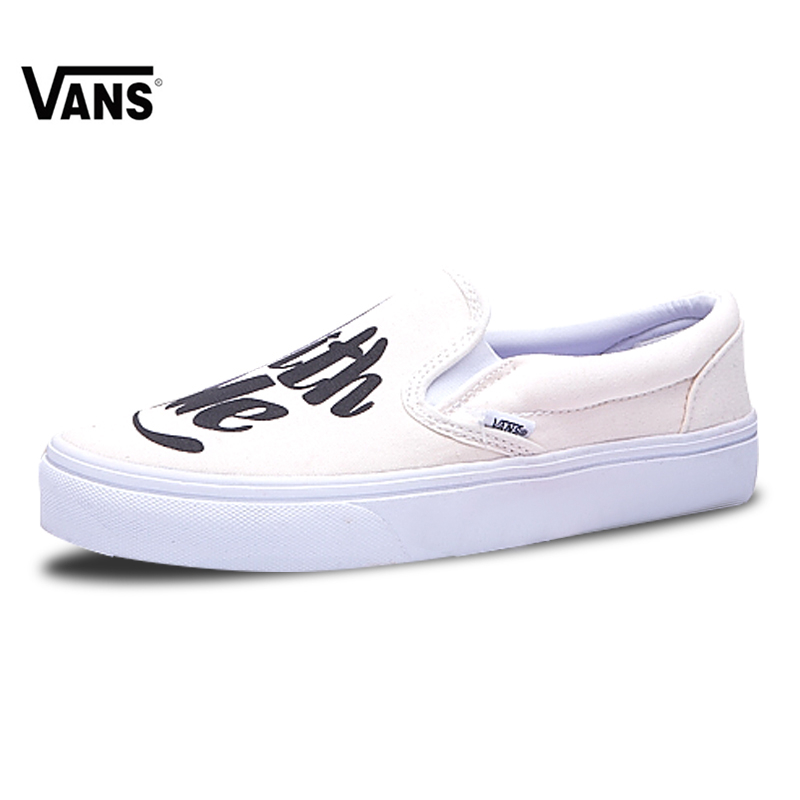 efb6b62aae7 Vans Slip on Original New Arrival Vans Men s Classic Old Skool Low-top Skateboarding  Shoes