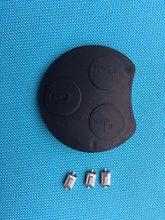 1pc de nova substituição 3 botão do carro remoto fob chave escudo para mercedes smart roadster fortwo coupe 3 botão escudo