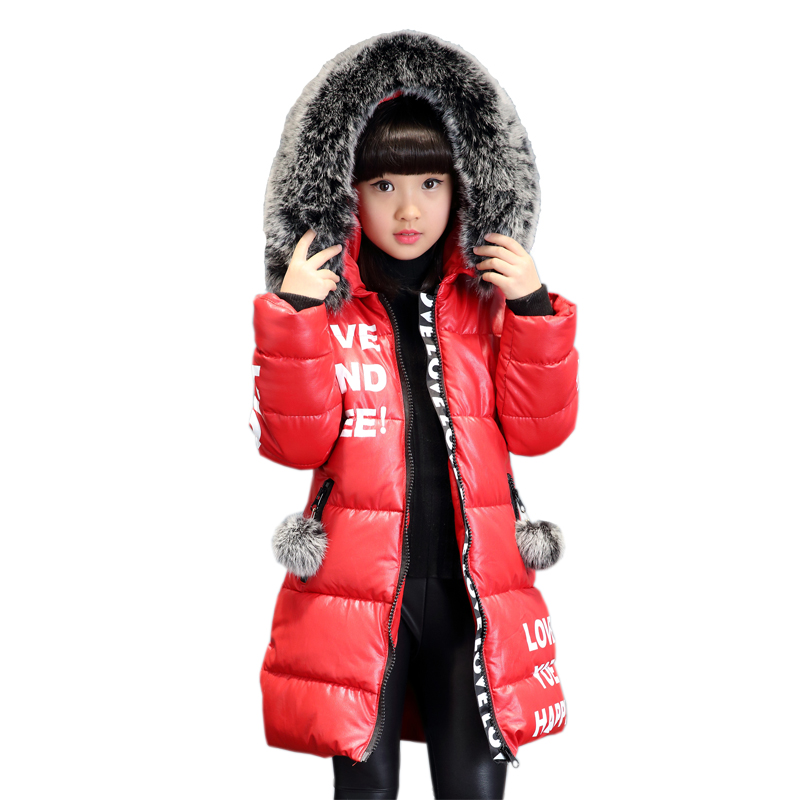 Girl Waterproof Cotton Clothing 2018 New Winter Clothing Boy Thick Jacket In The Long Section Down Jacket 12 Girls Winter Coats in the winter of 2015 the new cotton jacket mixed male clothing winter cotton thickened 5 color free delivery