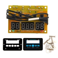 Hot DC 12V 10A Multifunction LED Digital Temperature Controller Thermostat Control S108 High Quality