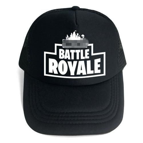 Fortnight Hats EPIC Toys FT Vedio Game Battle Royale Trucker Cap FORTRESS Hat Mesh Caps Summer Baseball Net Caps 24 Designs цена