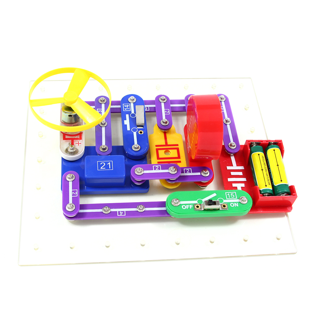 54 Multi Experiments Physics Science Set Super Scientific Kits Circuits Alternative Energy Kit Green Toys Educational Electronics Discovery Model Building Diy Flying Saucer Lamp Fm Radio Circuit Block