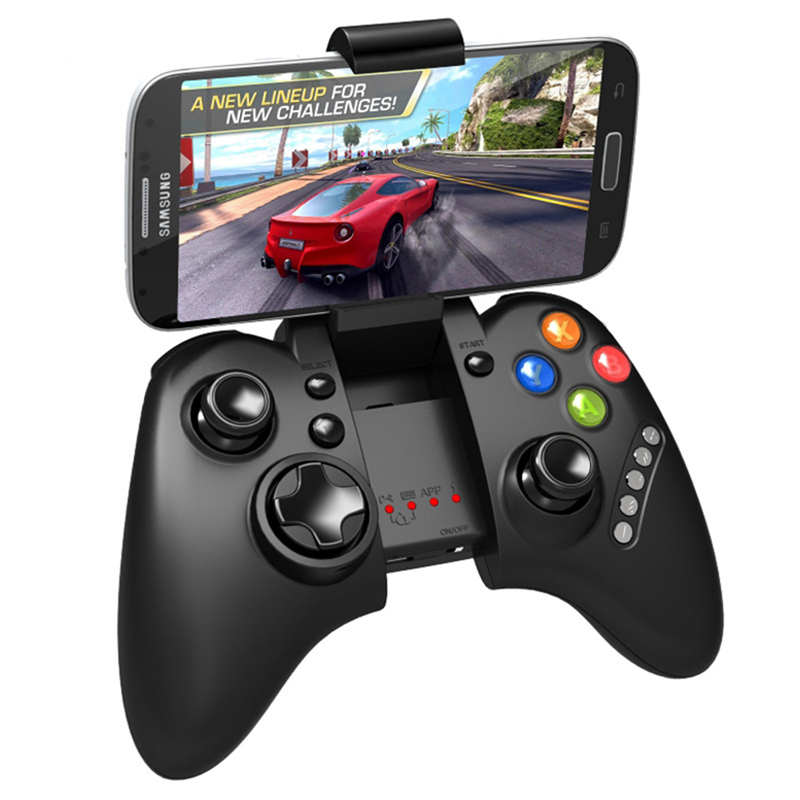 Ipega 9021 Gaming Joystick Controller For iphone 6s 7 Mobile Phones Contra Heroes Return Wireless Bluetooth Gamepads Joystick