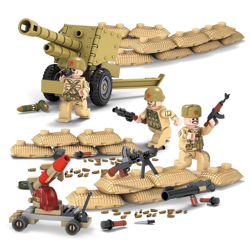 4 հատ / լաթ SWAT Ռազմական գործիչ Երկրորդ - Կառուցողական խաղեր - Լուսանկար 2
