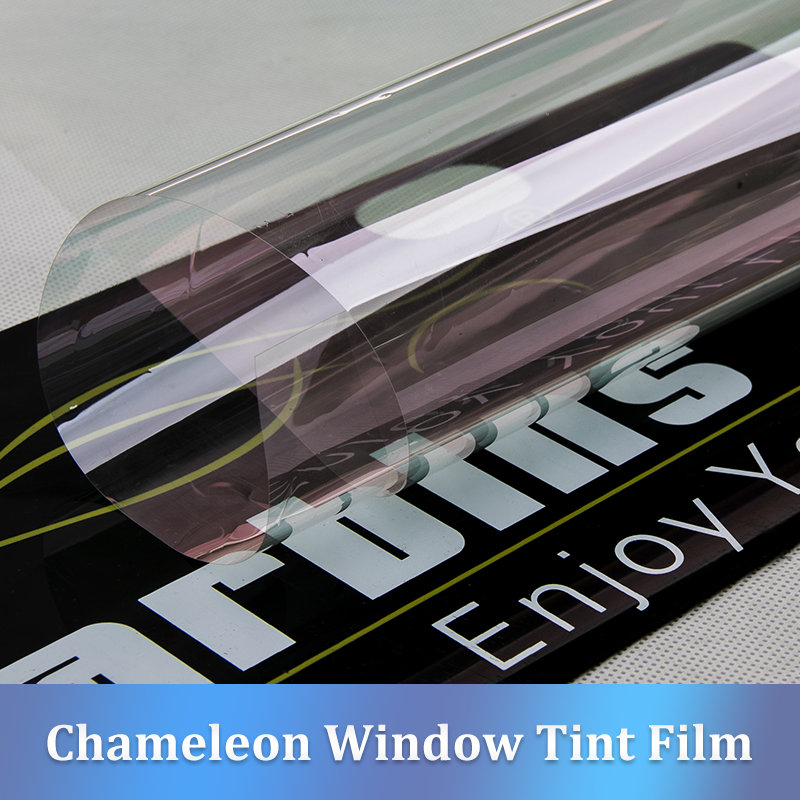 Carbins Chameleon Window Tint Film 85% VLT Purple-blue Color For Car Glasses Solar ProtectionCarbins Chameleon Window Tint Film 85% VLT Purple-blue Color For Car Glasses Solar Protection