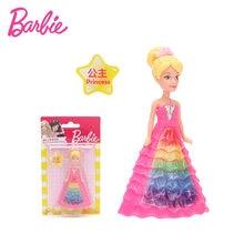 ca31e7bfd5 Oryginalny Lalka Barbie Aby Wierzyć Serii Barbie Lalka z Ubraniami  Akcesoria Zestaw Księżniczka Fairy Baleriny Dziewczynek