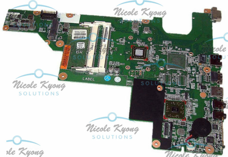100% working 661339-001 <font><b>E300</b></font> CPU TESTED intergrated MotherBoard SYSTEM BOARD for HP COMPAQ 435 635 CQ57 image
