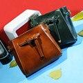 2017 новых мужчин девушки мешки посыльного старинные кожаные сумки водонепроницаемый ретро повседневная Сумка all-матч простой малый сумки на ремне