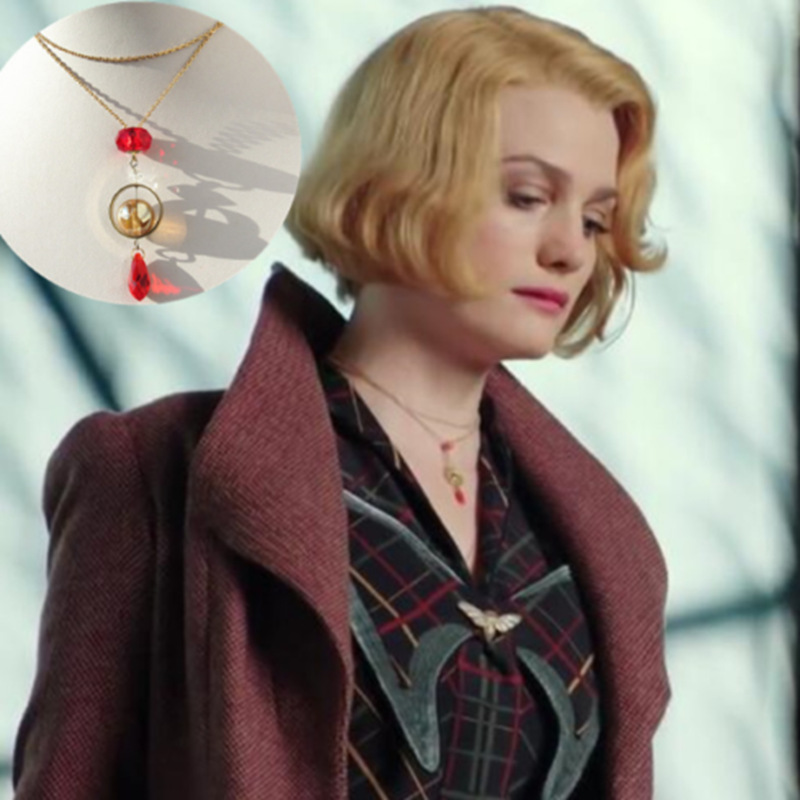 Fantastic Beasts And Where To Find Them Cosplay Necklace Cosplay Props Fans Girl Friend Gift Collection Gift Drop Ship