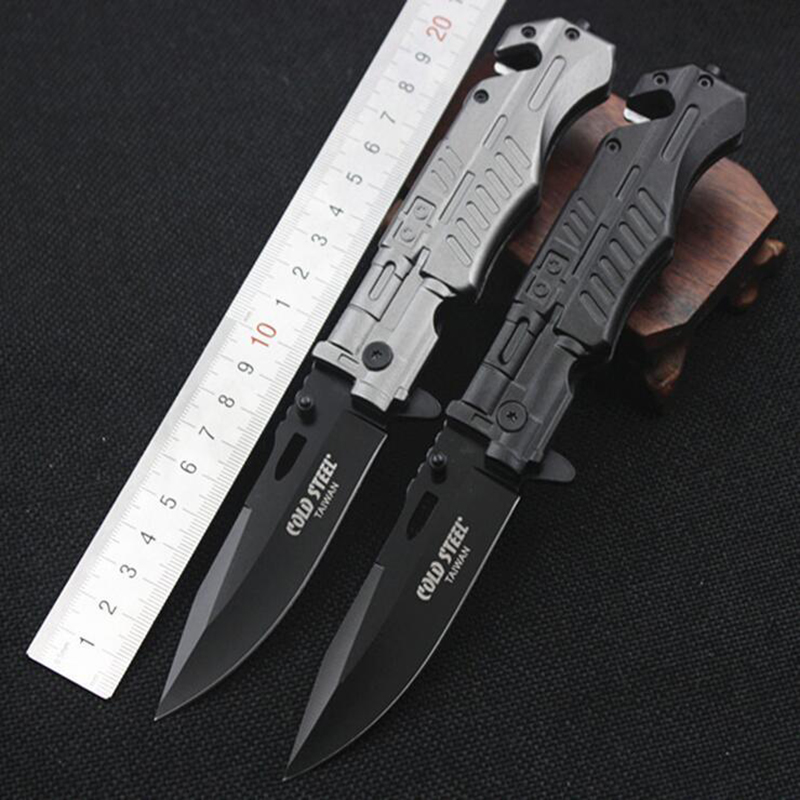 Jeslon COLD STEEL Mini Pocket Folding Blade font b Knife b font Outdoor Camping Portable Survival