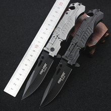 Jeslon COLD STEEL Mini Pocket Folding Blade Knife Outdoor Camping Portable Survival Hunting Steel Knife with Botltle Opener