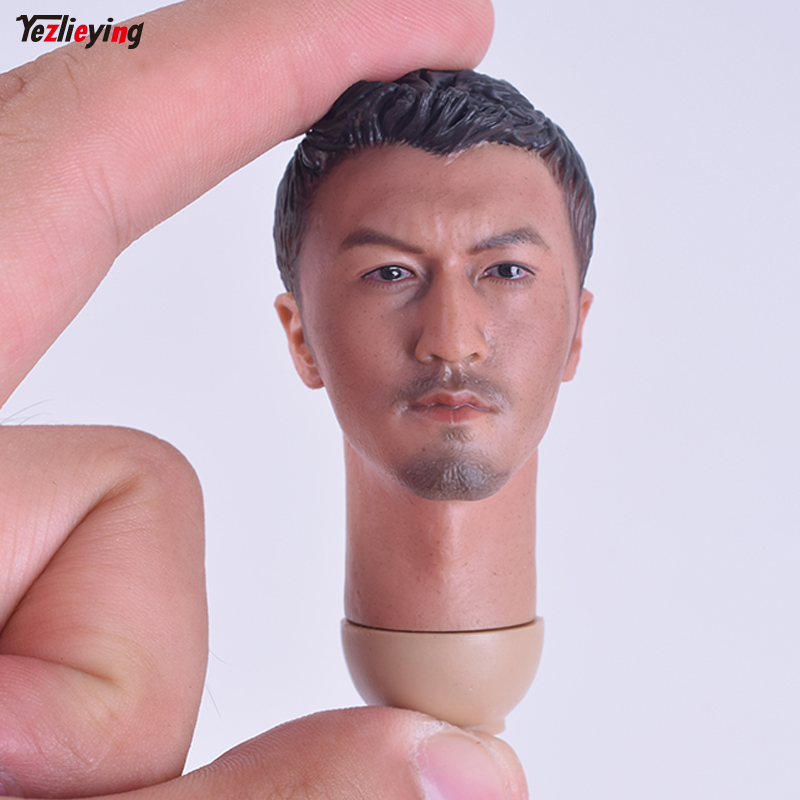 1/6 Scale Accessories HEADPLAY Nicholas Tse head Sculpt carving Hong Kong actor Fit 12 Inch Hot Sideshow Toys Body PH Figure