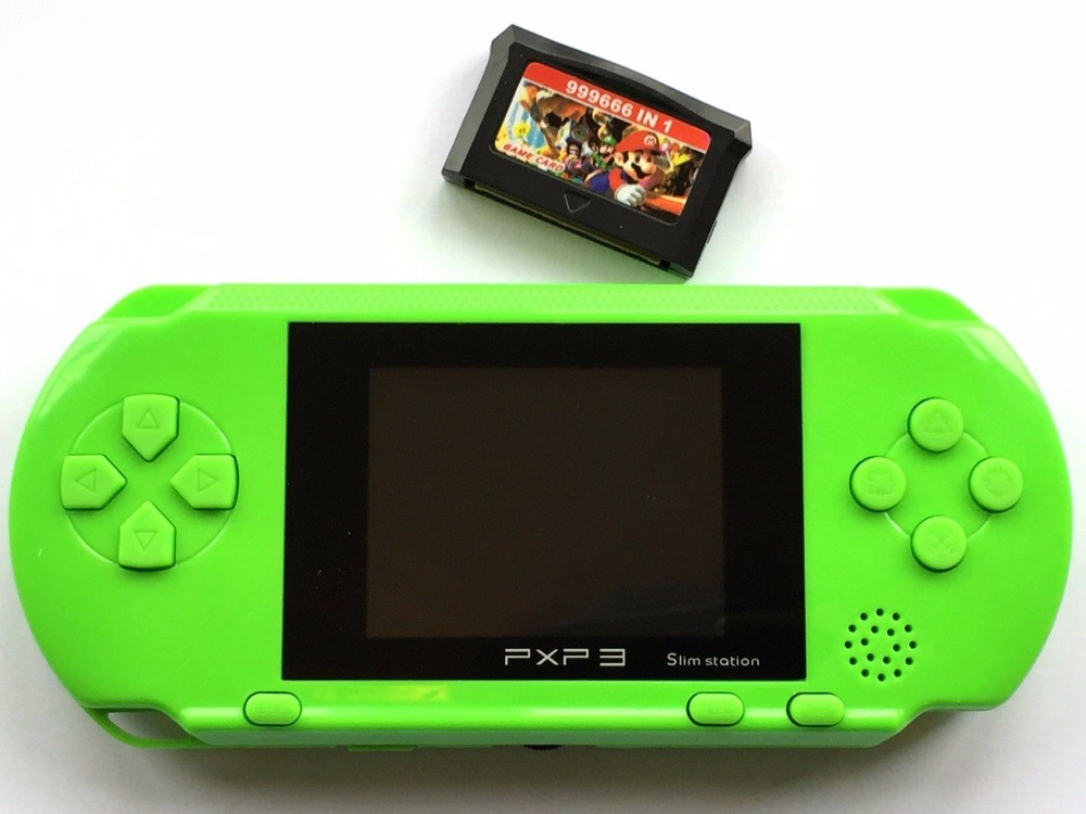PXP3 Portable Video Games 16Bit Handheld Game Console 150 Retro Megadrive