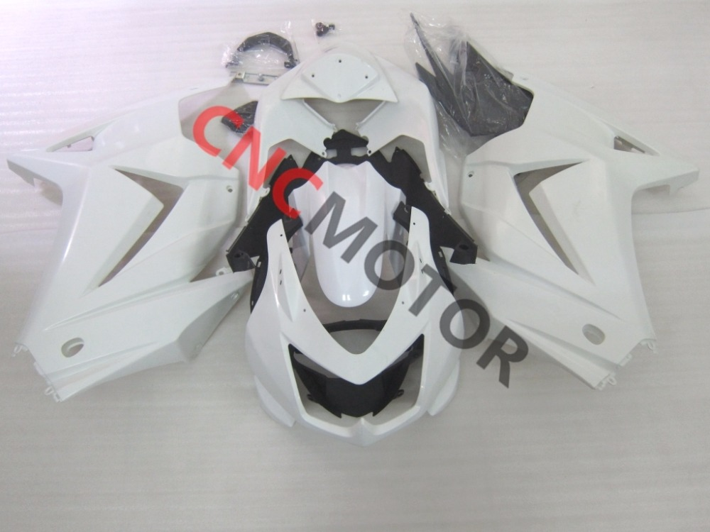 ABS Injection Motorcycle Bodywork Fairing Kit for Kawasaki Ninja 250R EX250 2008-2012 09 10 11 Unpainted