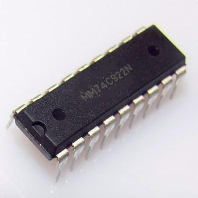 """משלוח חינם 100 PCS MM74C922N MM74C922 74C922 מח""""ש חדש"""