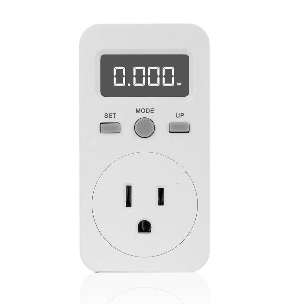 ACEHE Digital Power Meter Plug-in Socket Electric Wattmeter Energy Monitor Meter LCD Display Household Measuring Outlet Analyzer цена