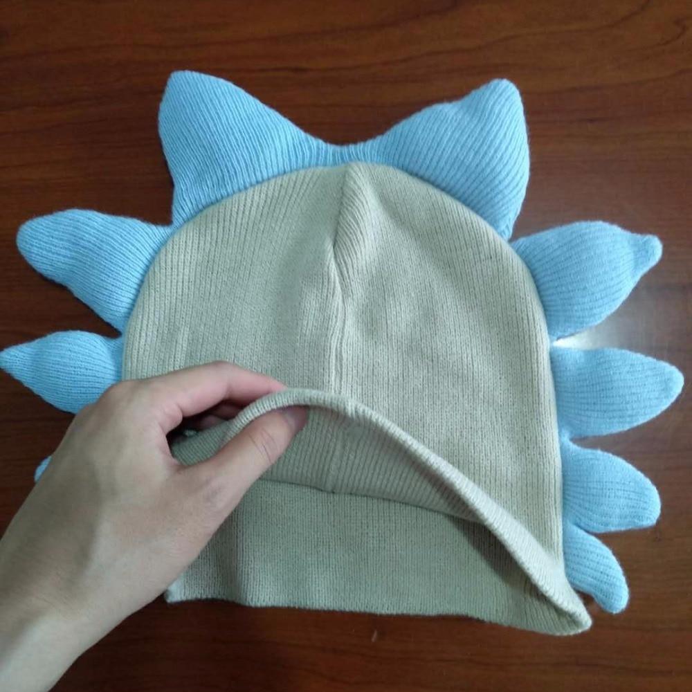 Anime Rick and Morty kaukė Cosplay šalmas Mielas pilnas veidas - Karnavaliniai kostiumai - Nuotrauka 6