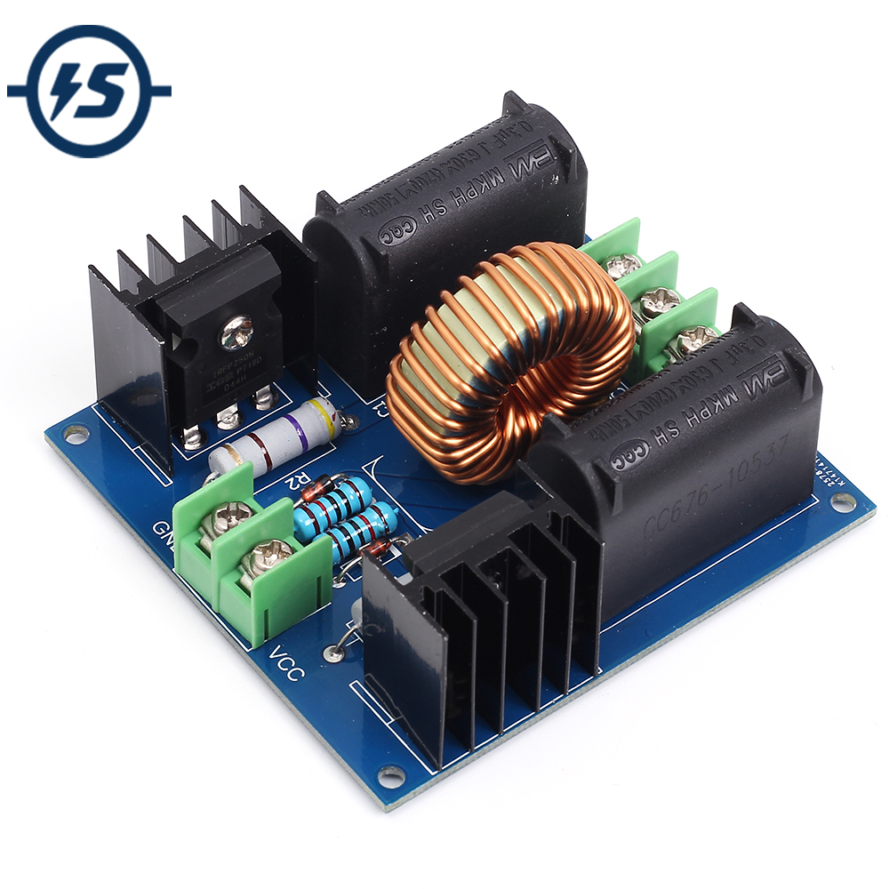 induction generator circuit - ZVS DC 12-30V 30-50KHz Induction Heating Driver Board High Voltage Generator Circuit PCB Induction Heating Board Module