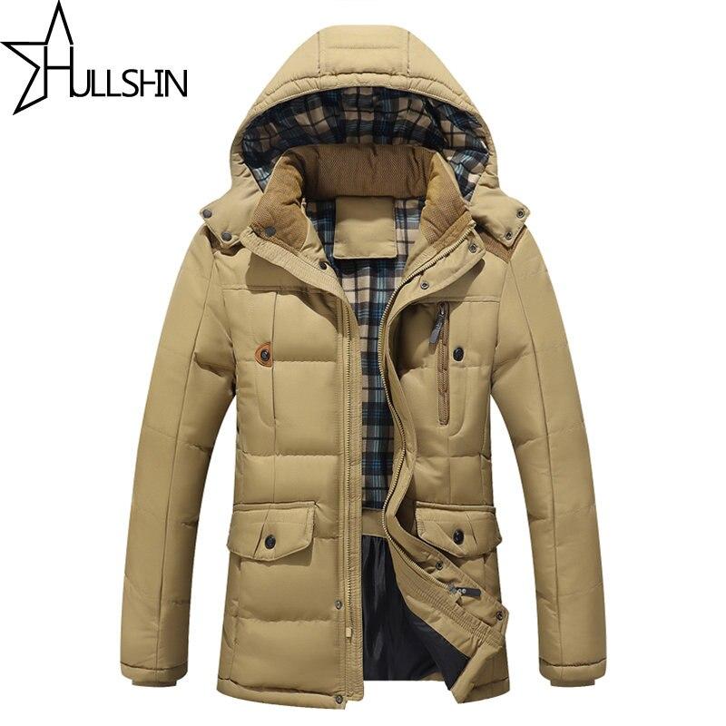 Yeni Varış Yakışıklı Erkekler erkek casual kapşonlu ceketler thicking Parka Ceket Sıcak pamuk ceket Artı boyutu XXXL Palto YN6812