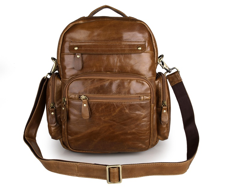 J.M.D Vintage Real Leather Unisex Backpacks Travel Bag School bag Bookbag 2751BJ.M.D Vintage Real Leather Unisex Backpacks Travel Bag School bag Bookbag 2751B