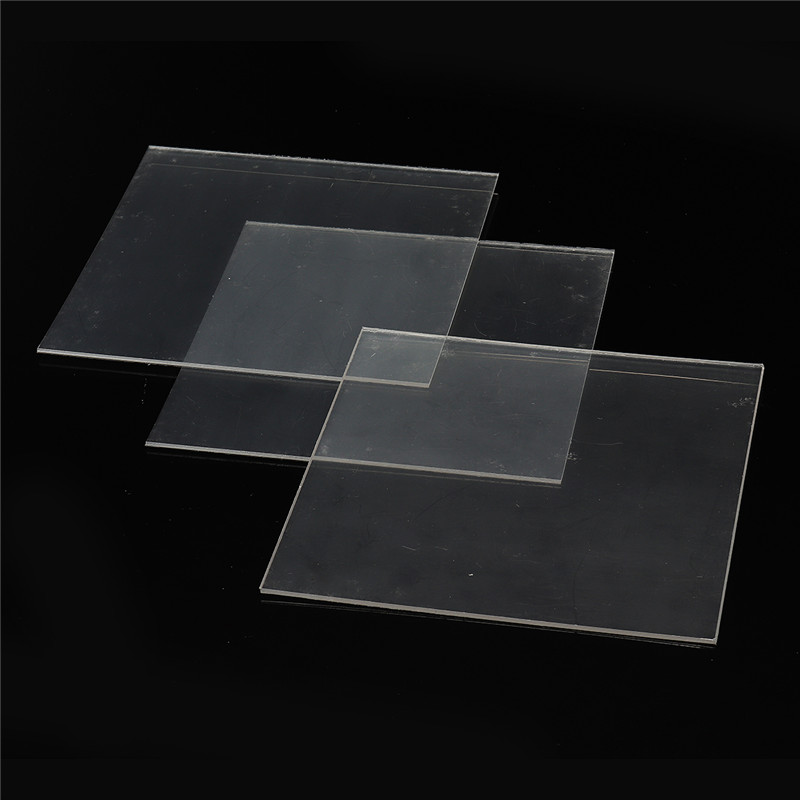 1Bag 127*127mm 1/1.5/2mm Dental Splint Thermoforming Material Sheet Oral Denture Model Mold Slice For Vacuum Forming Hard