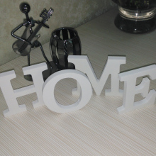 Alphabet wedding gift wall