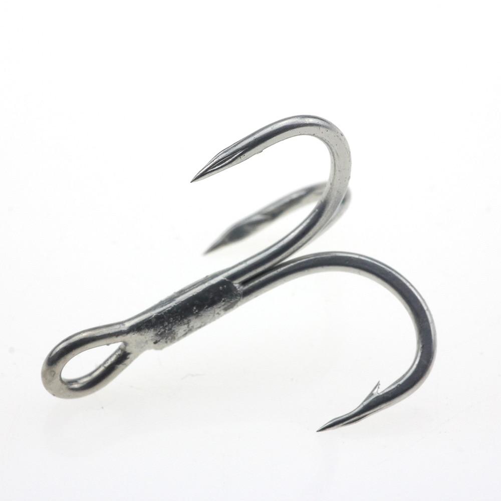 Black Chrome Plated Surface Centering Spring Twist Lock Fish Hook Bait Sharpness