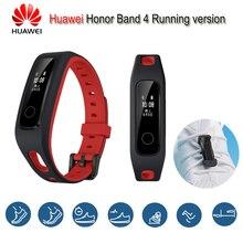 Huawei originais Honra Banda 4 Executando a Versão Sapato-Fivela Terra Impacto Freqüência Cardíaca Inteligente Pulseira Sono Monitor de Pressão