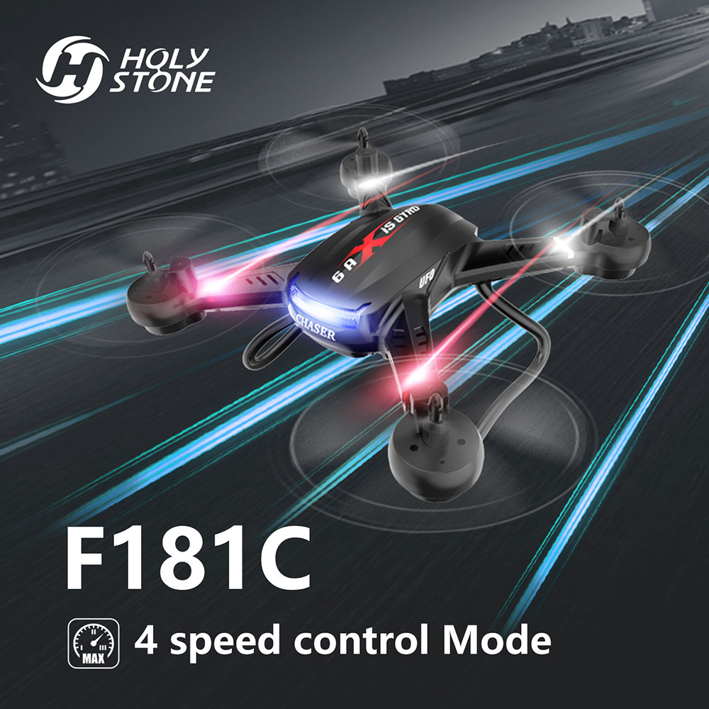 Holy Stone 4 Channel 2.4GHz 6-Gyro Headless Mode RC Helicopter Quadcopter with HD Camera RTF 3D Flips Drone One Key Return F181C drone with camera h5c 2 4ghz 6 axis wth gyro rc quadcopter one key return headless mode rc aircraft rtf helicopter toy kid gifts