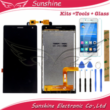 Touch Screen For Highscreen Verge LCD Display Screen With Touch Sensor Complete Assebmly 3M Sticker