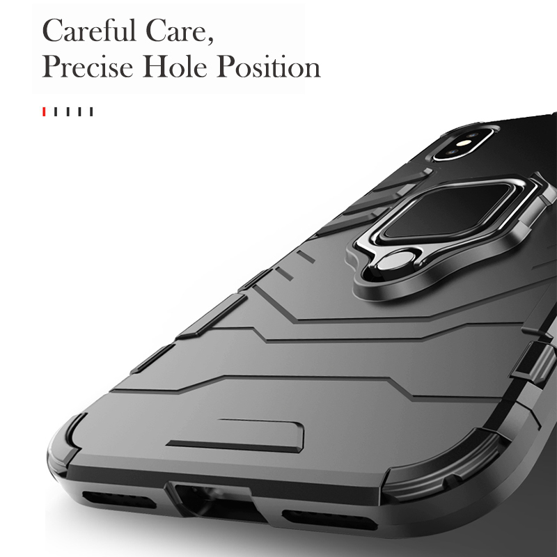 Uppbo Kickstand Case For Samsung Galaxy Note 9 J6 J4 A8 Plus A7 A5 2018 A730F Case Magnet Cover For Samsung On6 Case Armor Coque in Fitted Cases from Cellphones Telecommunications