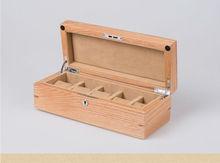 Эксклюзивная модная оригинальные деревянные 5-сетка коробка вахты деревянный корпус часов кварцевые часы коробки подарочная коробка часы коробка MSBH004c