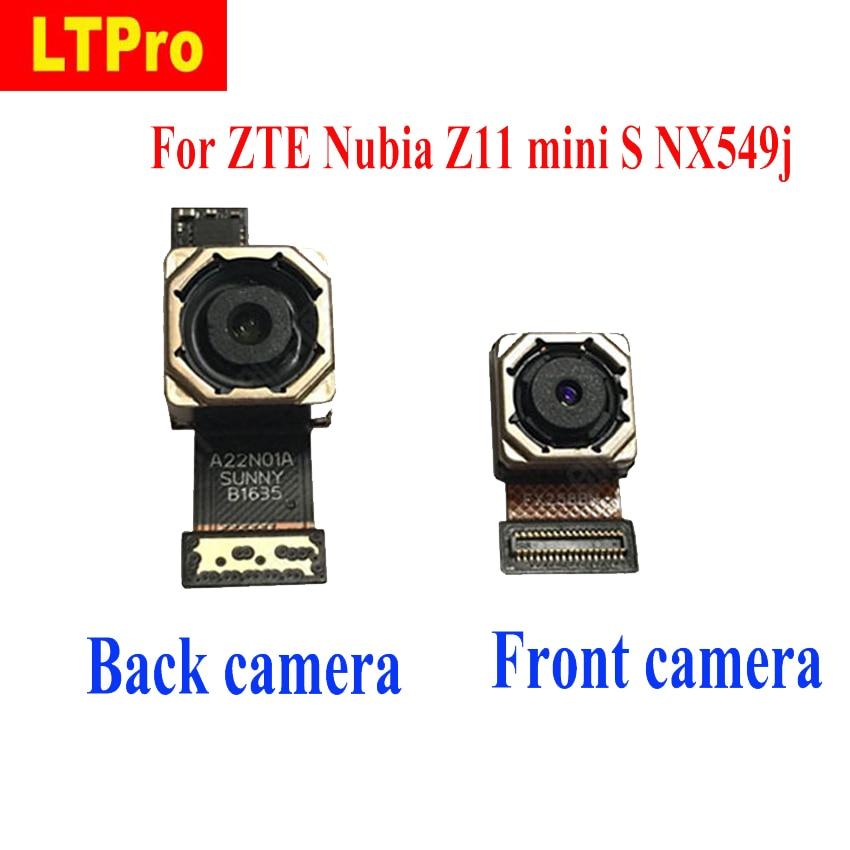 LTPro Qualidade SUPERIOR Pequeno Frente ou Voltar Câmera Traseira Módulo Flex cable Para ZTE Nubia NX549j Z11 mini S telefone peças de Reposição