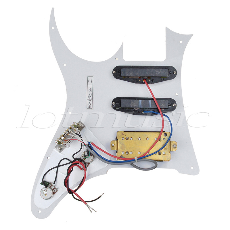 Great Car Alarm System Diagram Thick 3 Pickup Les Paul Wiring Diagram Clean Les Paul 3 Pickup Wiring Diagram Volume Pot Wiring Youthful 1 Humbucker 1 Volume DarkAlarm Wiring Guitar Prewired Loaded Pickguard HSS Scratch Plate For Ibanez 7V ..