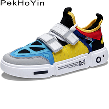 Brand Men Casual Shoes Superstar Fashion Sneakers Zapatos Footwear Male Designer Shoes Outdoor Men Walking Shoes Platform White italy brand white golden goose superstar casual shoes worn men women low cut fashion ggdb shoes original scarpe donna uomo 2016 page 6